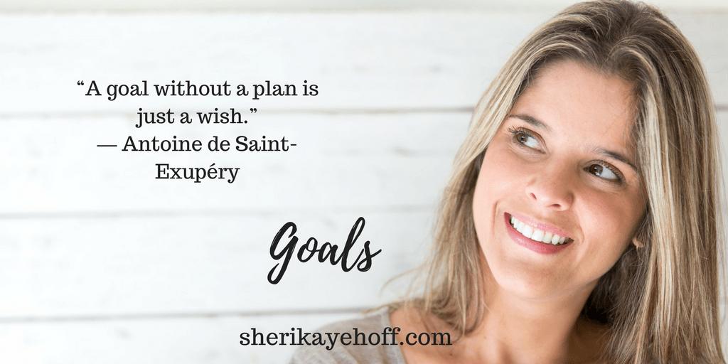Unlock your goals with sheri kaye hoff